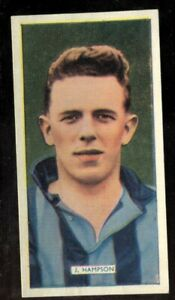 Tobacco-Card-Carreras-POPULAR-FOOTBALLERS-1936-J-Hampson-Blackpool-32