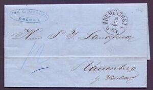 Vorphilabrief-Bremen-1863-mit-Thurn-amp-Taxis-Stempel-nach-Rauenberg-970