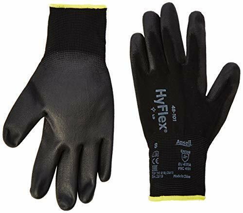Gant Protection Mécanique... Ansell HyFlex 48-101 Gants de travail en Nylon