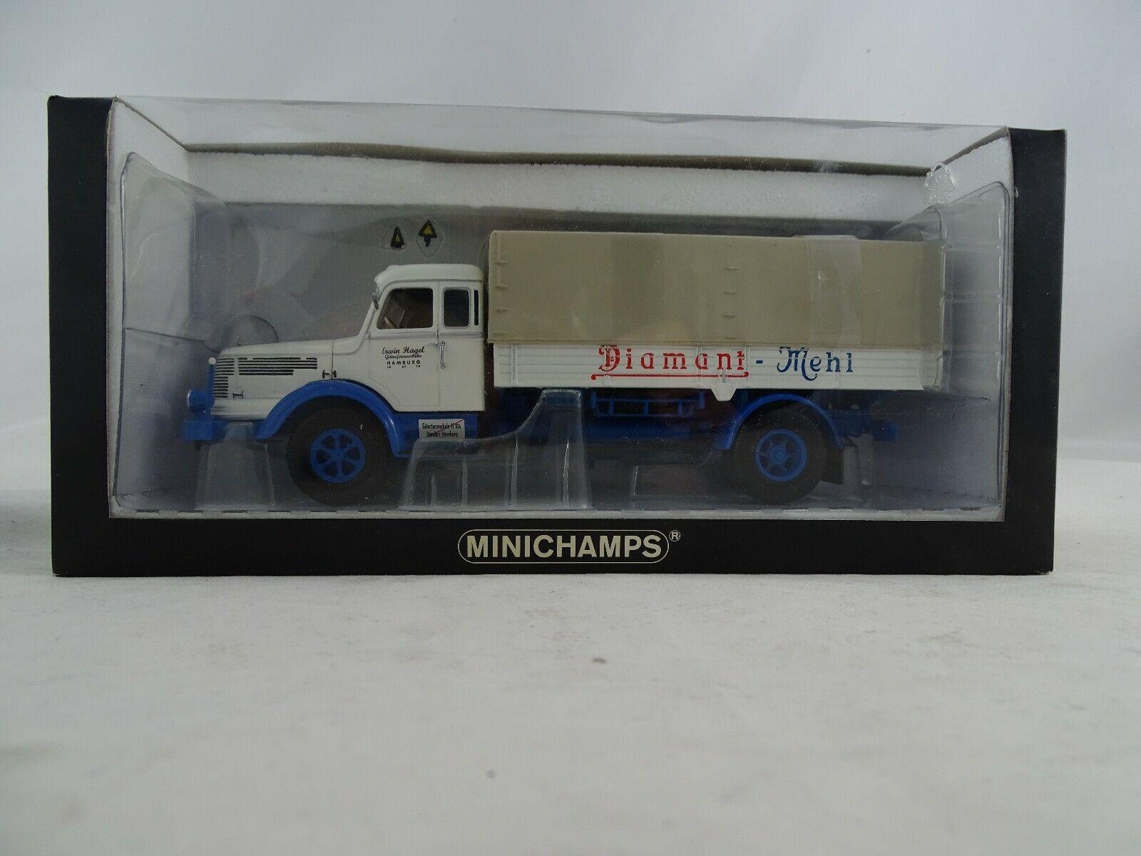 1 43 Minichamps 439069024 Krupp Titan Canvas Diamant farine limitée
