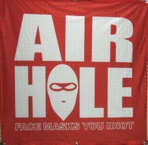 Airhole Snowboard Ski Face Mask Big Shop Mesh Jersey Display Banner Flawless New Ebay