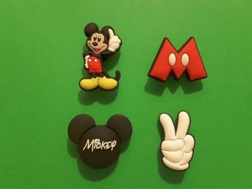 4pcs 2D PVC Shoe Charms personnages Disney 8