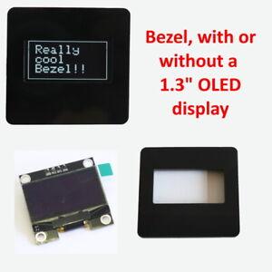 "1.3"" OLED BEZEL with optional 128X64 SSH1106 Display. Arduino, Rasp Pi"