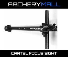 Cartel Focus Target Recurve Archery Sight both RH / LH Aluminum Construction
