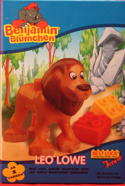 **LEO LÖWE**Benjamin Blümchen**Best Lock Construction Toys Junior**neu**