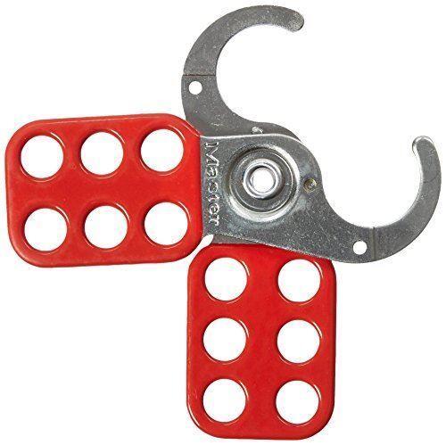 Masterlock S420 25 mm M//Lock Steel Lockout Hasp Red