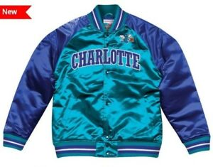 faeaf9474b7 Image is loading Authentic-amp-Mitchell-amp-Ness-CHARLOTTE-HORNETS-NBA-