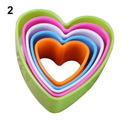 5Pcs Novelty Ideal Fondant Cake Cookie Sugarcraft Cutters Decor Molds Tool Set