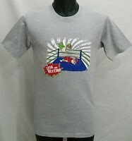 Wrestling Mexico Lucha Libre T Shirt Size Men's Xs/small Gray Tee