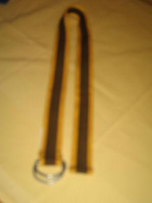 Gürtel Braun-orange, Kindergürtel Länge 74,5 Cm