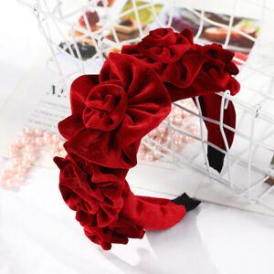 Peony-Flower-Velvet-Hairband-for-Women-Winter-Headband-Ladies-Ball-Party-Retro