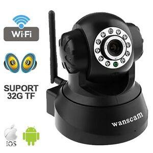 WIRELESS-WIFI-IP-CAMERA-TF-CARD-SLOT-NIGHT-VISION-MONITOR-WIRED-MOTION-DETECTION