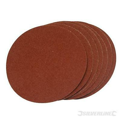10 disques abrasifs auto-collants 150 mm. Grain 120