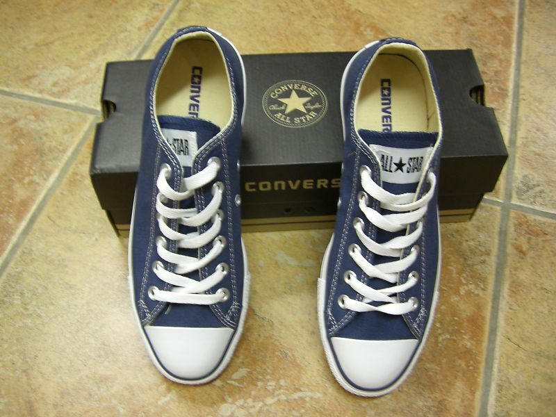 Converse Chucks NAVY All Star OX Größe 43  blau NAVY Chucks M9697C Neu Sneaker 388bc4
