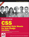 Professional CSS: Cascading Style Sheets for Web Design by Christopher Schmitt (Paperback, 2008)