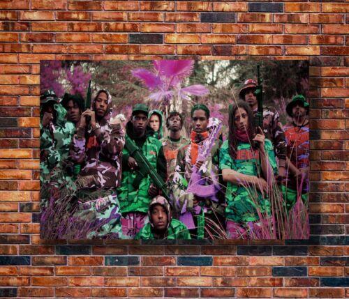 14x21 24x36 Art Gift X-229 New ASAP Rocky Yamborghini High Custom Poster