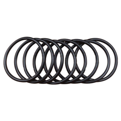 50PC Oil Resistant NBR Nitrile Butadiene Rubber 1.8mm Sealing Ring 1.6-7.1mm