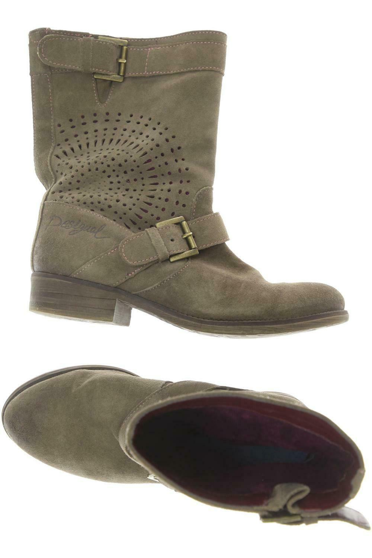 Desigual Stiefel Damen Stiefel Gr. DE 38 kein Etikett braun  c6f1d5c