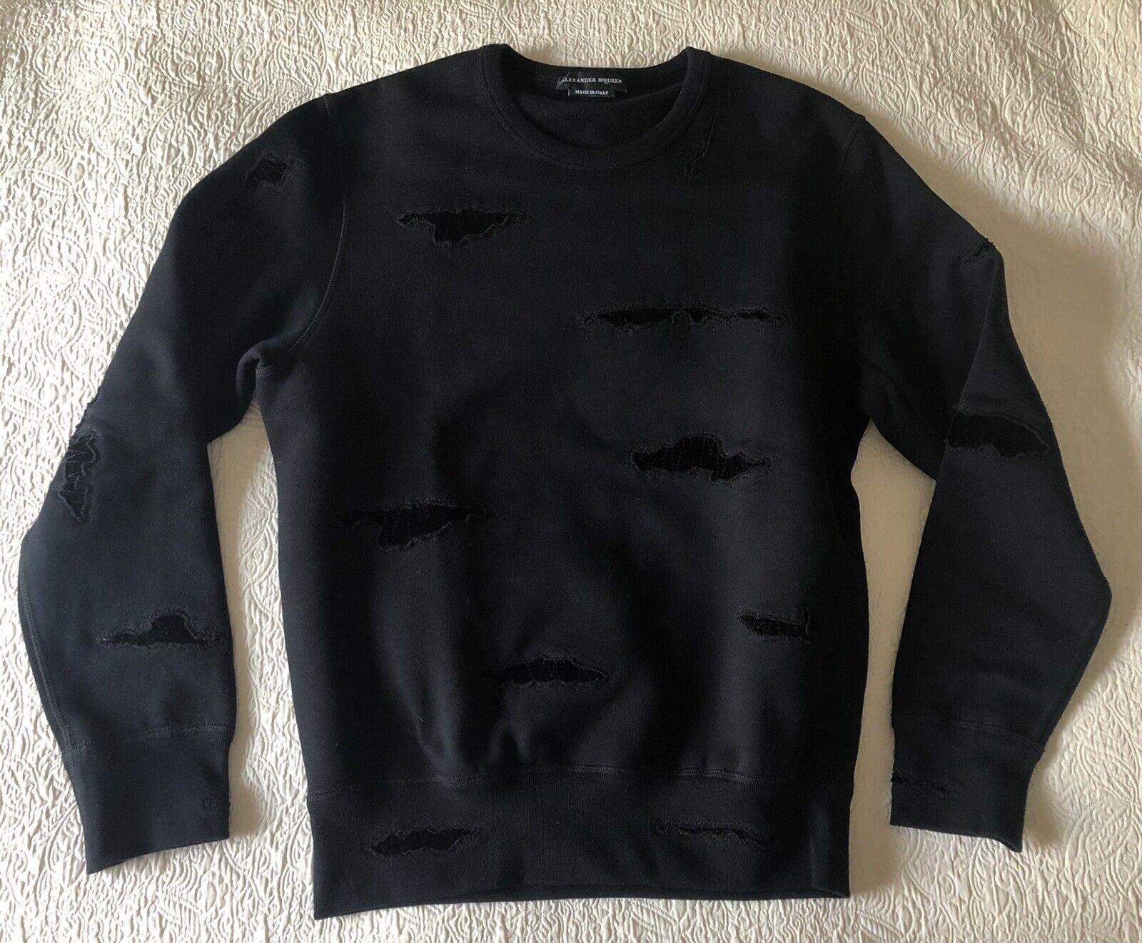 Alexander McQueen Mens Black Sweatshirt Medium