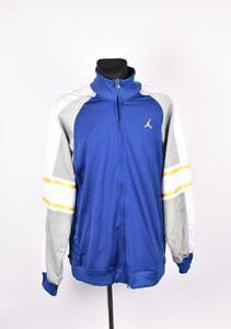 Air-Jordon-Vintage-Retro-Men-Jumper-Track-Jacket-Size-XL