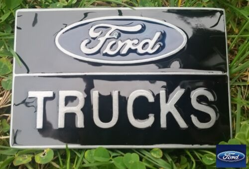 FORD TRUCKS Classic Logo♈ Built  FORD Tough Belt Buckle collectible Great gift.
