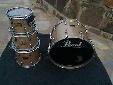 Pearl Masters Studio Birch Platinum Mist 4pc Drum Set Kit 22x16,10x8,12x9,14x12