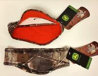 John Deere Realtree Ap Camo Orange Fleece Lined Headband W/flaps 216415