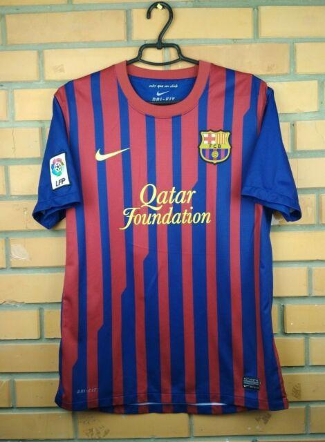 Barcelona Jersey 2011 2012 Home M Shirt 419877-486 Soccer Football ...