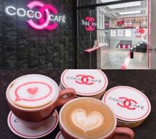 CHANEL VIP Gift COCO Cafe Coaster Cup x 2 pcs
