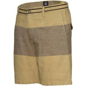 Volcom Mens Raiden Shorts Drill Khaki - Shorts