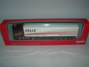 "1:87 Herpa MAN TGX XXL LKW-Transporter-Hängerzug /""Mosolf/"" #310406"