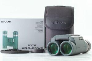 [ Mint en Caja ] Pentax AD 8x25 Wp Prismáticos Ricoh De Japón