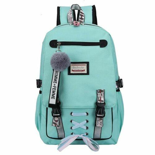Cute Waterproof Nylon Women Backpack Classic School Bag For Teenage Girls Travel