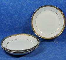 4 mikasa bone china pembroke gold encrusted coupe soup bowls narumi japanminty