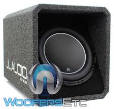 "JL AUDIO HO112-W6V3 12"" SUB LOADED SUBWOOFER ENCLOSURE BASS SPEAKER & BOX NEW"