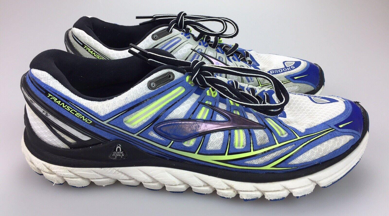 Brooks Transcend Ultimate Ride Marathon Running shoes Mens 11.5 bluee 1101571D769