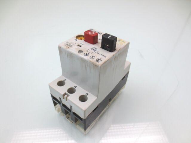 Klockner Moeller Manual Motor Starter  Pkzm 1-10  6
