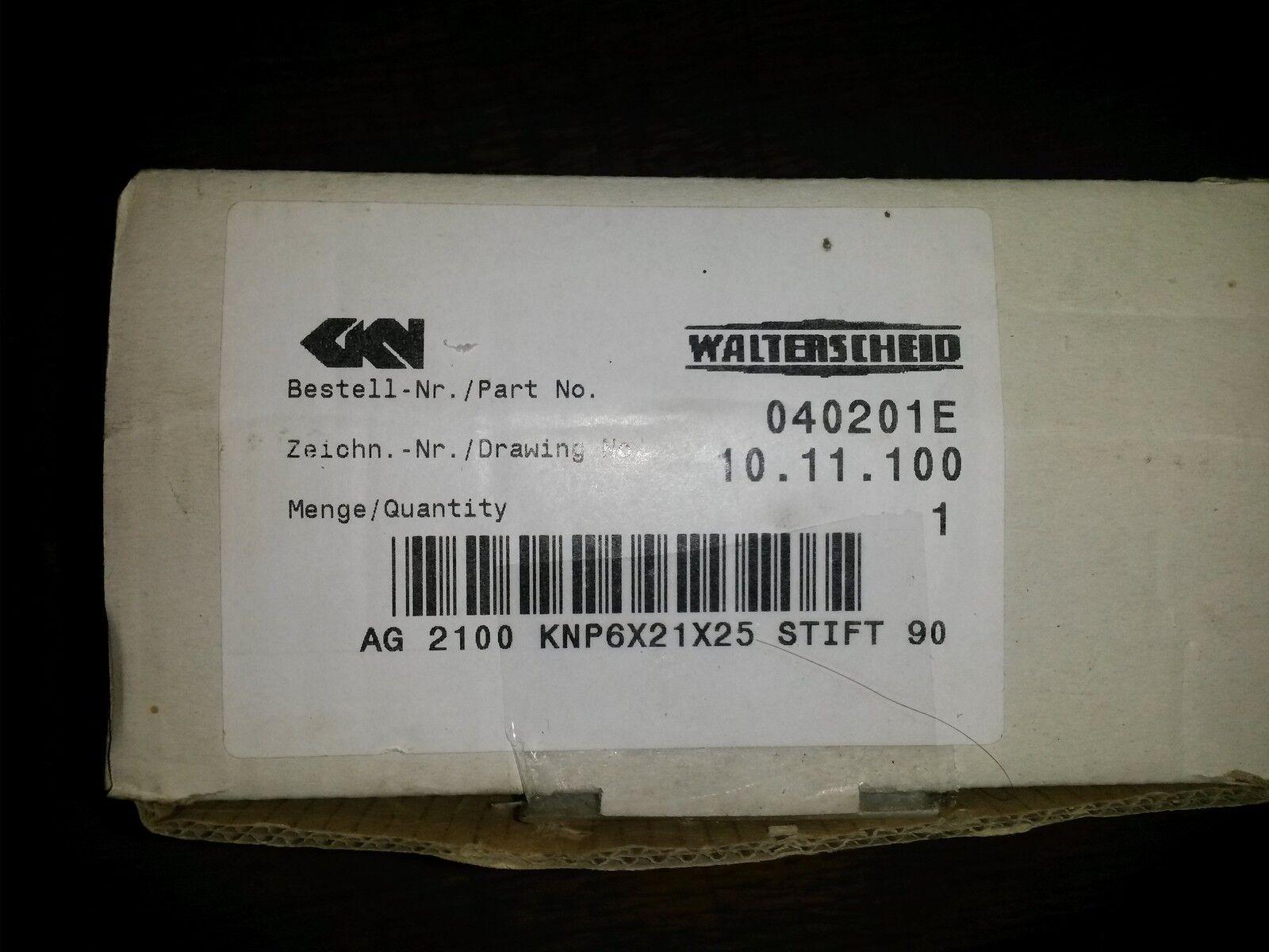 Walterscheid Aufsteckgabel 10.11100 6x21x25 W2100  6 Zahn 1040201