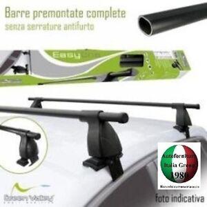 BARRE PORTAPACCHI-PORTATUTTO EASY ONE FIAT PUNTO EVO 5P 09> DAL 2009 IN POI