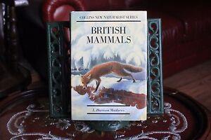 British-Mammals-by-L-Harrison-Matthews-Hardback-1989