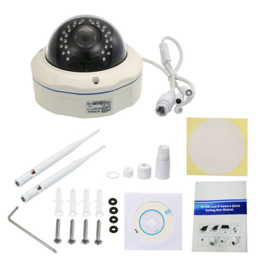 1080P 4G Wireless IP Camera 3G GSM Outdoor Waterproof CCTV 32GB TF Card C7A7