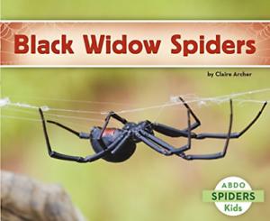 Black Widow Spiders  BOOK NEW