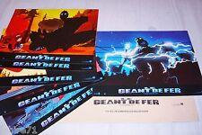 LE GEANT DE FER !   jeu 6 photos cinema lobby cards animation manga