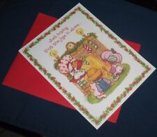 Strawberry Shortcake Christmas Card Huckleberry Pie Raspberry Tart Custard