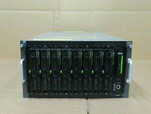 Fujitsu Primergy BX400 S1 8x BX2560 M1 With 2x E5-2640V3 128GB DDR4 Blade Server