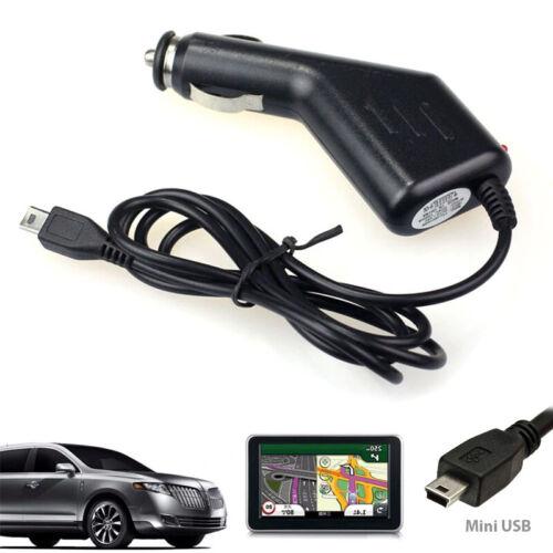 Mini USB Car Charger Power Charging Cable Cord for TomTom Garmin Navman Sat Nav