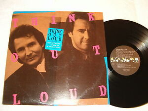 Think-Out-Loud-Self-Titled-S-T-1988-Rock-LP-Nice-EX-Promo-Vinyl