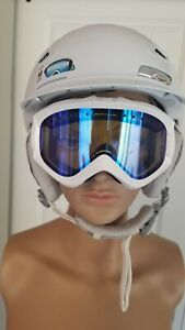 Smith-Vantage-Koroyd-Helmet-M-55-59-White-Free-Goggles-Ski-Snowboard