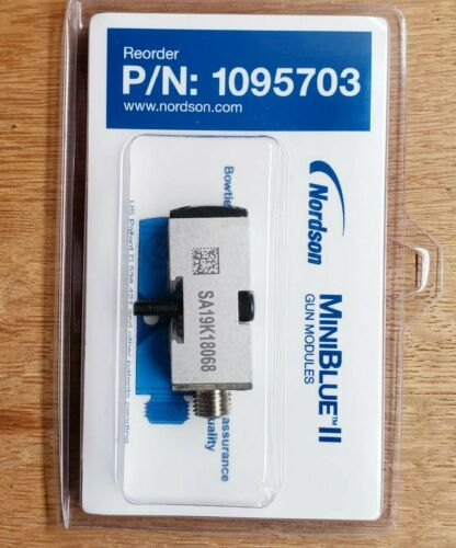Nordson 1095703 MiniBlue II Gun Module Original Nordson FREE SHIPPING!!!