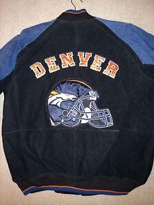 Denver-Broncos-Official-Licensed-NFL-100-Suede-Jacket-by-G-III-NWT-SIZE-LARGE